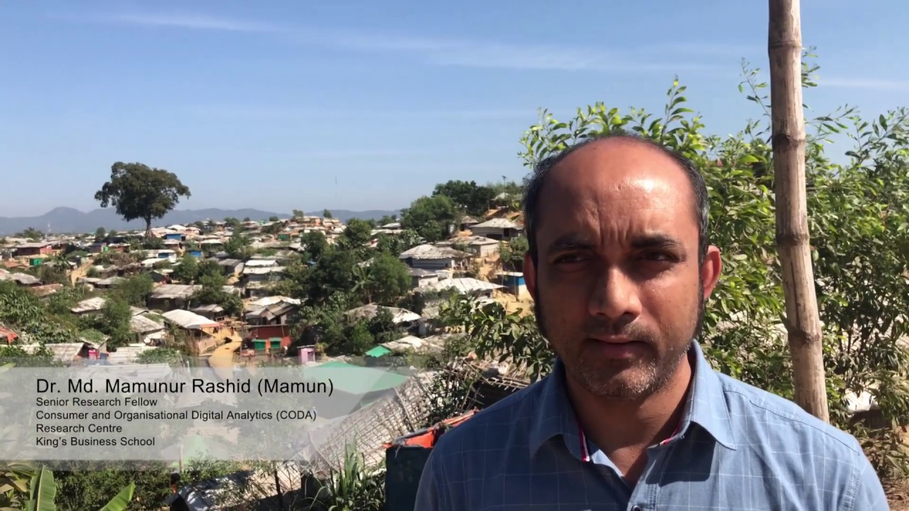 Humanitarian Dairy - A Researcher First Visit Into Refugee Camp