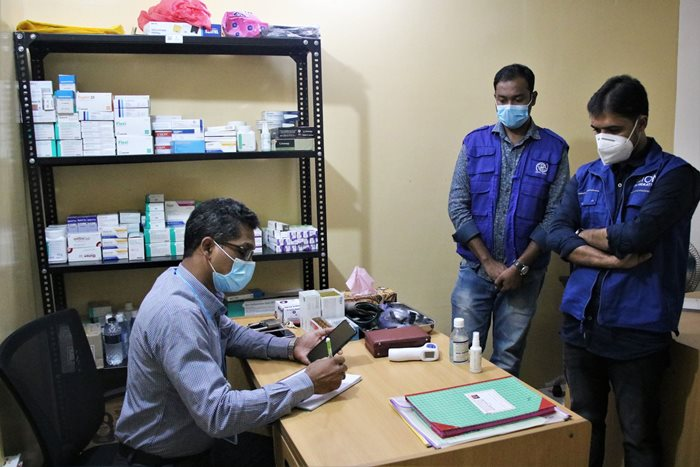 IOM Launches Health Facility for Freedom Fighters in Cox's Bazar