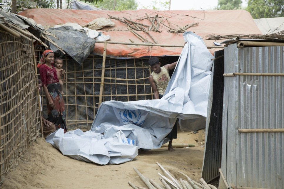 COVID-19: UNHCR warns of severe implications for annual monsoon response in Bangladesh