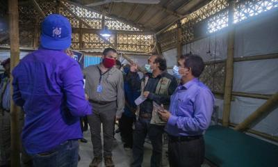 IOM, UK Emergency Medical Team Continue COVID-19 Health Support for Refugees, Locals in Cox's Bazar