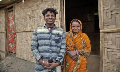 IOM Supports Host Communities Build Disaster-Resilient Shelters in Cox's Bazar