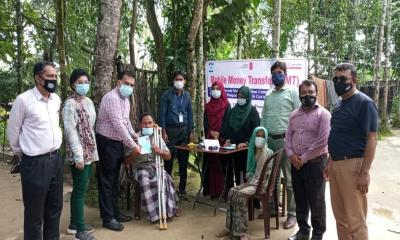 YPSA Cash support During Pandemic, A  lifeline for a mother in Ukhiya