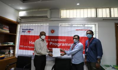 ActionAid Bangladesh provided medical equipment including PPE to 8 Upazila Isolation center in Cox‍‍`s Bazar