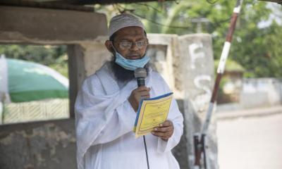 Religious leaders play key role in battle against COVID-19