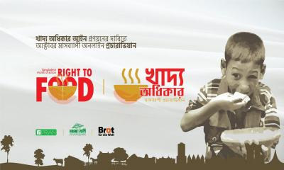 KHANI‍‍`s month-long campaign on demanding Right to food Law