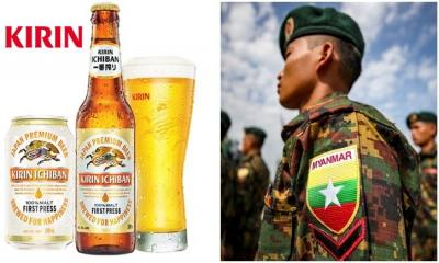 "Japanese Beer Company Kirin  Seeking ""Alternatives"" to its Partnerships with Myanmar Military"