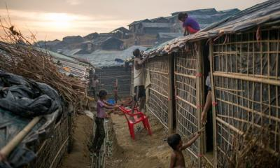 Why are Rohingya camps going up in flames?