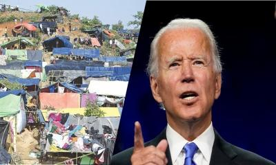 Biden to review whether Rohingya persecution genocide