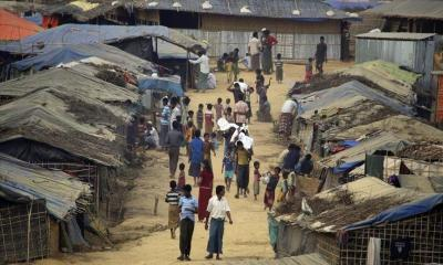 Domestic  abuse cases rise in rohingya camp during pandemic
