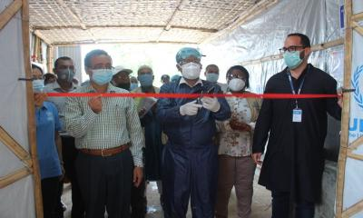 Two Covid-19 isolation centres inaugurated in Cox's Bazar